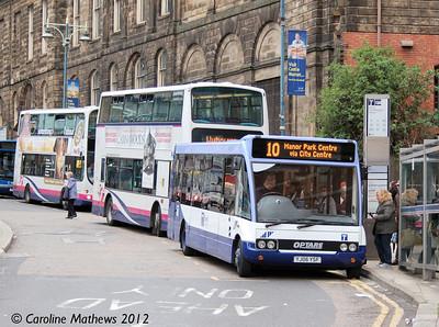 Sheffield Community Transport YJ06YSF, Waingate, Sheffield, 11th May 2012