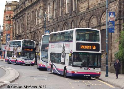 First 32955 (X611HLT), Waingate, Sheffield, 11th May 2012