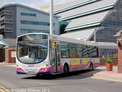 First 60737 (MV02VDL), Sheffield, 2nd August 2012