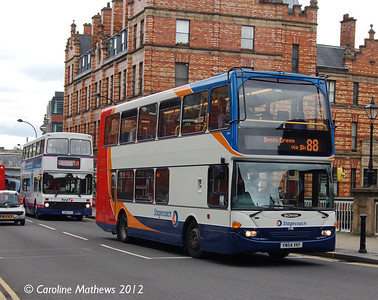 Stagecoach 15416 (YN54VKF), Lady's Bridge, Sheffield, 11th May 2012