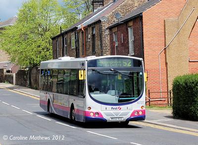 FIrst 60727 (MV02VCG), Sheffield, 12th May 2012