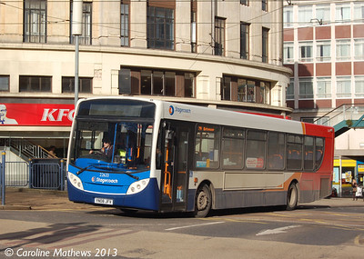 Stagecoach 22633 (YN08JFV), Sheffield, 1st February 2013