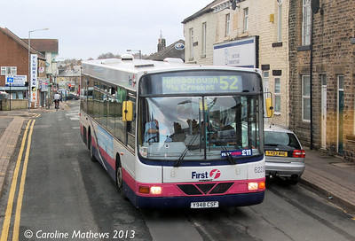 First 62239 (Y948CSF), Crookes, 1st February 2013