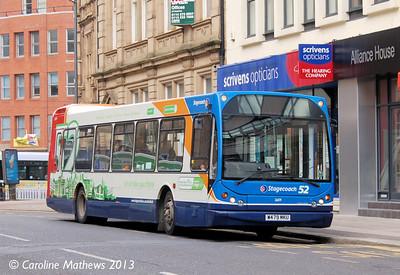 Stagecoach 26109 (W479MKU), Leopold Street, Sheffield, 1st February 2013