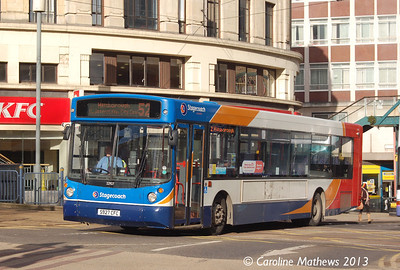Stagecoach 22927 (S927CFC), Sheffield, 1st February 2013