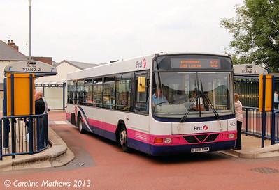 First 60626 (R789WKW), Hillsborough, 8th August 2013
