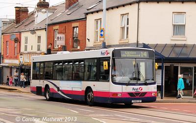 First 62239 (Y948CSF), Hillsborough, 8th August 2013