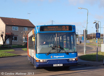 Stagecoach 33239 (T139JKY), Crystal Peaks, 1st February 2013