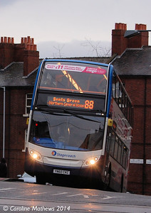 Stagecoach 15709 (YN60CKC), Sheffield, 4th January 2014