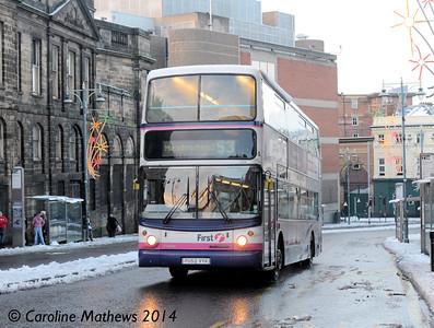 First 31134 (YU52VYK), Waingate, Sheffield, 27th December 2014