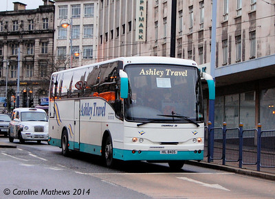 Ashley Travel HIL8405, High Street, Sheffield, 4th January 2014