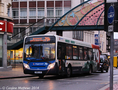 Stagecoach 22614 (YN08JGX), Sheffield, 4th January 2014
