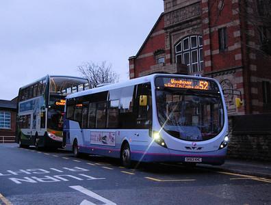 FIrst 63026 (SK63KHC), Hillsborough, Sheffield, 4th January 2014