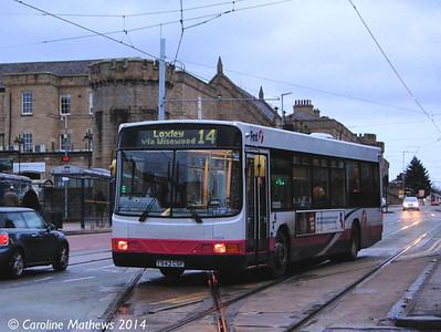 First 62234 (Y943CSF), Hillsborough, Sheffield, 4th January 2014