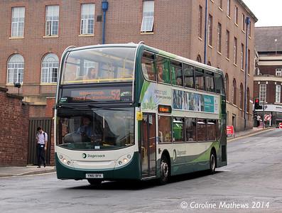 Stagecoach 12088 (YN61BFK), Rockingham Street, Sheffield, 31st July 2014
