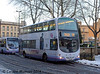 First 37024 (YJ06XKN), Fitzalan Square, Sheffield, 27th December 2014
