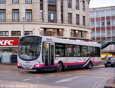 FIrst 60735 (MV02VDJ), Sheffield, 4th January 2014