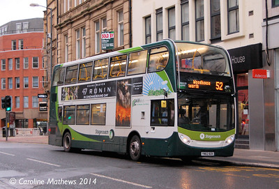 Stagecoach 12178 (YN62BZK), Leopold Street, Sheffield, 4th January 2014