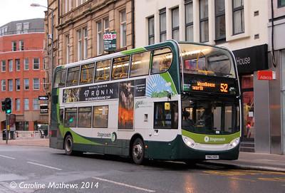 Stagecoach 12178 (YN62BZK), Leopold Street, Sheffield, 4th January 2014