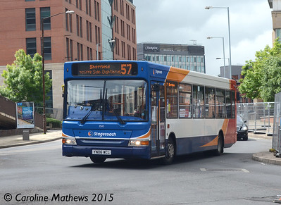 Stagecoach 35110 (YN06WCL),  Sheffield, 29th May 2015