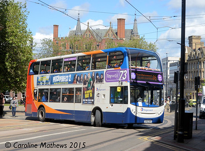 Stagecoach 19653 (SP60DPV), Church Street, Sheffield, 29th May 2015