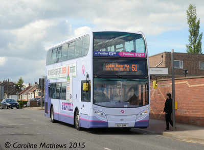 First 33865 (SL14LMK), Gleadless Townend,  Sheffield, 30th May 2015