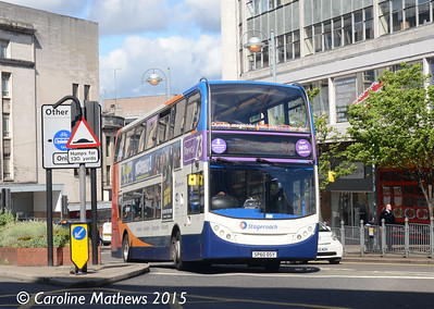 Stagecoach 19646 (SP60DSY) , Sheffield, 29th May 2015