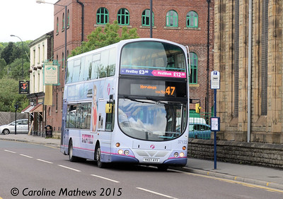 First 37122 (YK07AYX), Nursery Street, Sheffield, 29th May 2015