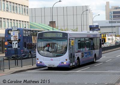 First 60741 (MV02VDP), Arundel Gate, Sheffield, 30th May 2015