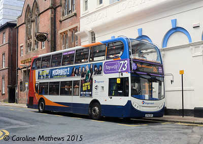 Stagecoach 19653 (SP60DPV), St James Street, Sheffield, 29th May 2015