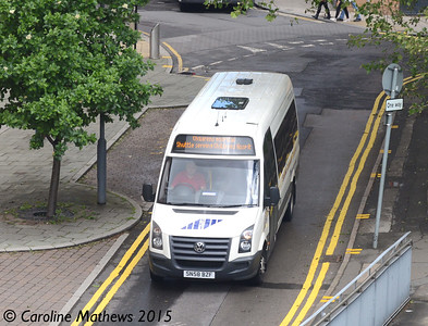 Sheffield Community Transport SN58BZF, Shude Hill, Sheffield, 29th May 2015