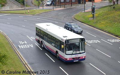 First 60684 (T866ODT), Park Square, Sheffield, 29th May 2015