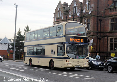 First 37229 (3910WE), Western Bank , Sheffield, 28th December 2015