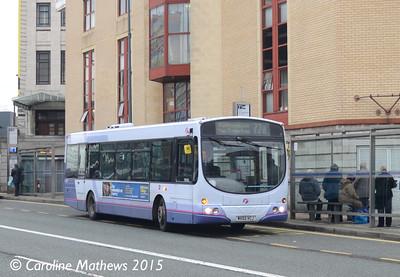 First 60728 (MV02VCJ), Arundel Gate, Sheffield, 28th December 2015