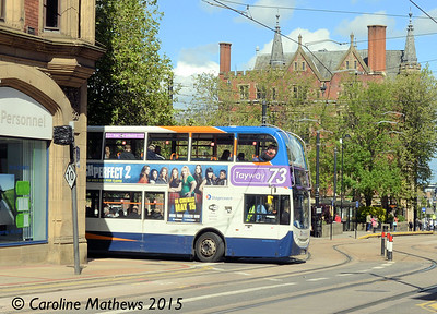 Stagecoach 19653 (SP60DPV), St James Row, Sheffield, 29th May 2015