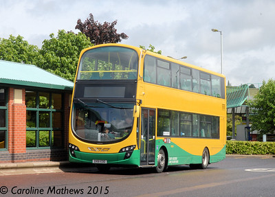 Tates Travel DX61EOO, Meadowhall Interchange, Sheffield, 29th May 2015