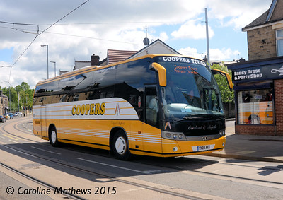 Coopers of Killamarsh YN08AVX, Middlewood Road, Sheffield, 29th May 2015
