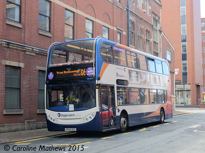 Stagecoach 19642 (SP60DSO), St James Street, Sheffield, 29th May 2015