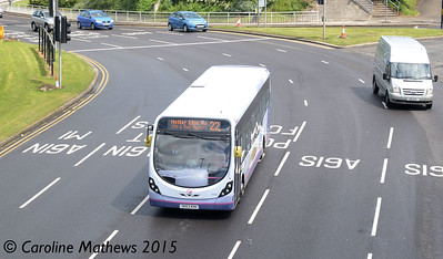 First 63031 (SK63KHH), Park Square, Sheffield, 29th May 2015