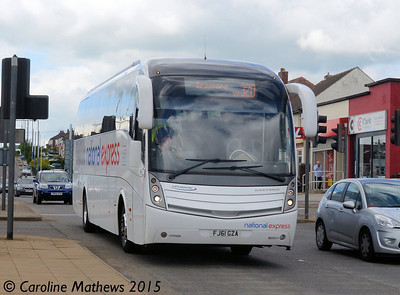 Travelstar FJ61GZA, Gleadless Townend, Sheffield, 30th May 2015