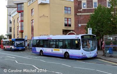 First 60892 (YJ51RHF), Arundel Gate, Sheffield, 5th August 2016