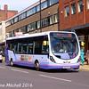 First 63021 (SK63KGX), Pinstone Street, Sheffield, 5th August 2016