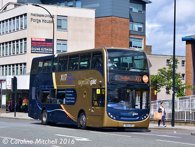 Stagecoach 15193 (YN64AOD), Arundel Gate, Sheffield, 3rd August 2016