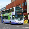 First 37264 (YN07MLO), Pinstone Street, Sheffield, 5th August 2016