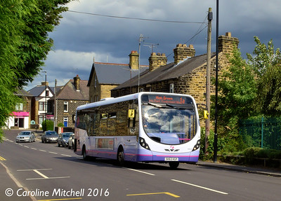 First 63018 (SK63KGP), Mill Road, Ecclesfield, Sheffield, 3rd August 2016