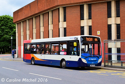 Stagecoach 36992 (SN63YPR), South Lane, Sheffield, 3rd August 2016