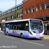 First 63030 (SK63KHG), Pinstone Street, Sheffield, 5th August 2016