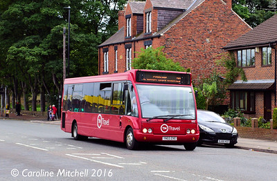TM Travel 1165 (YN03ZXE), Ecclesfield Common, Sheffield, 3rd August 2016