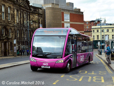 TM Travel 509 (YJ65EPE), Waingate, Sheffield, 3rd August 2016