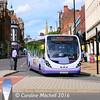 First 63025 (SK63KHB), Pinstone Street, Sheffield, 5th August 2016